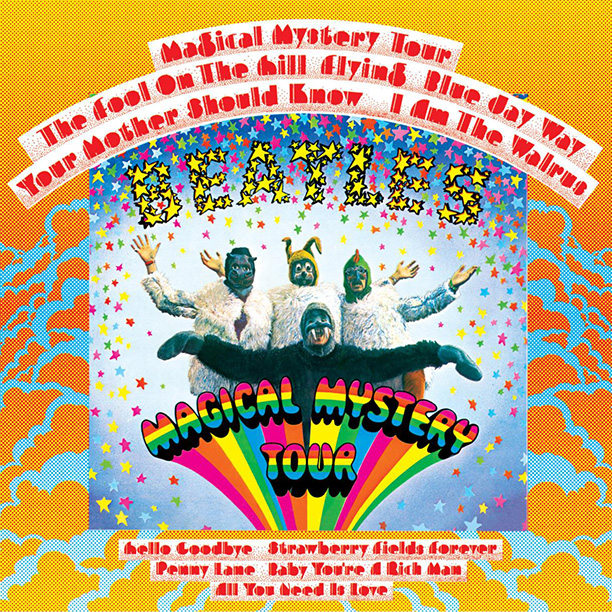 13. MAGICAL MYSTERY TOUR
