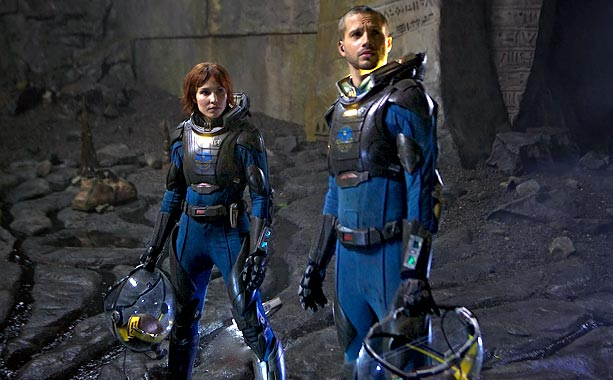 Prometheus | For the 2012 prequel to Alien , director Ridley Scott wanted spacesuits with a decidedly more modern look than those in his 1979 sci-fi classic.…