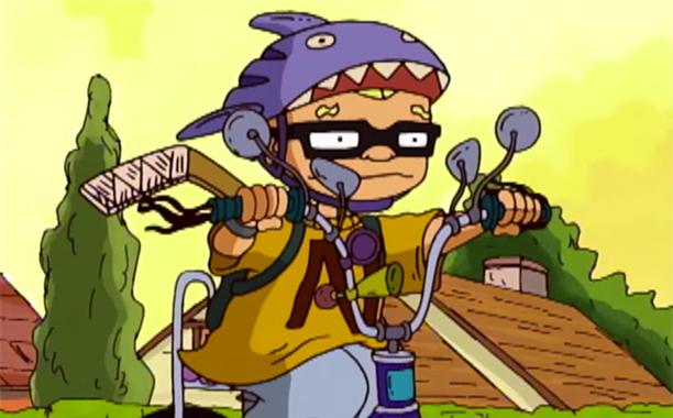 """12. Sammy """"Squid"""" Dullard, Rocket Power"""