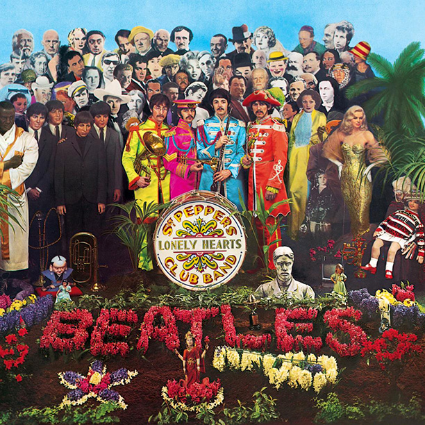 7. SGT. PEPPER'S LONELY HEARTS CLUB BAND