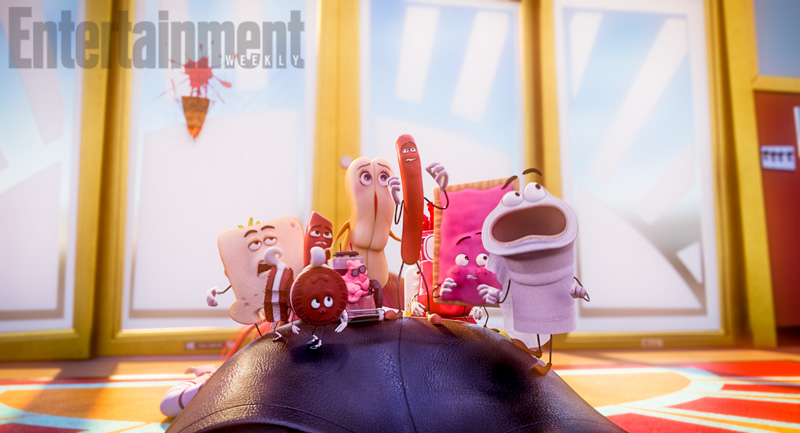 'Sausage Party': Get to Know the Delicious Characters
