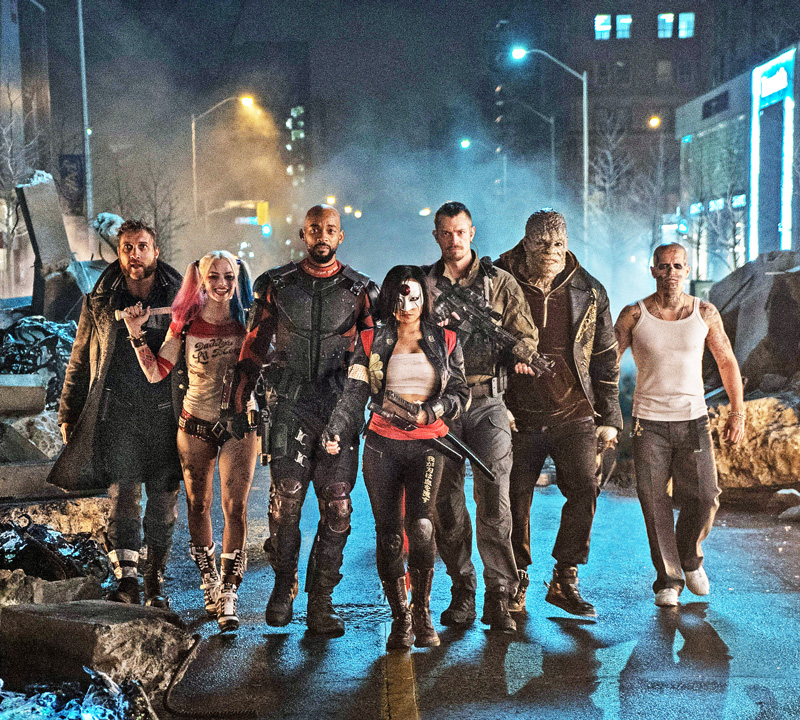 Clone of All Crops: SUICIDE SQUAD Cast Shot