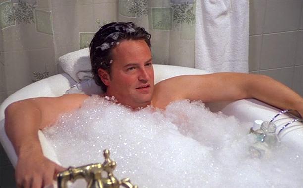 Season 8: 'The One Where Chandler Takes a Bath'