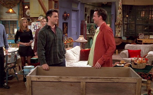 Season 4: 'The One with Chandler in a Box'