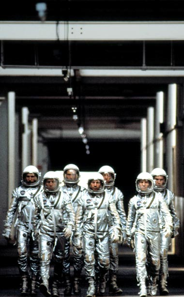The Right Stuff | The 1983 film follows the ?Mercury Seven? test pilots, the first US astronauts to attempt to go into space, so the stars' suits had to…