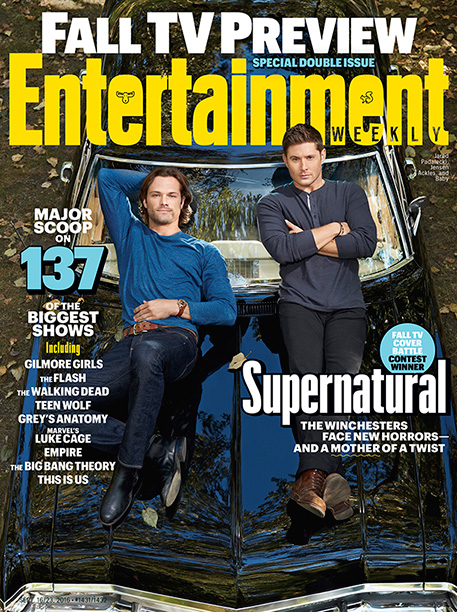 'Supernatural' on the Cover of EW