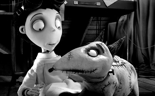 5. Frankenweenie (feature) (2012)