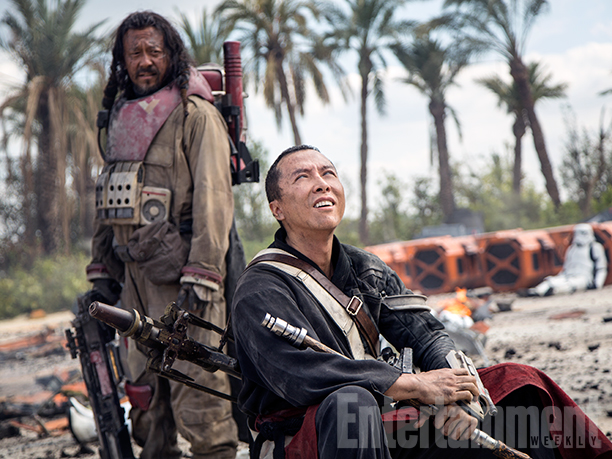 Rest for Baze and Chirrut