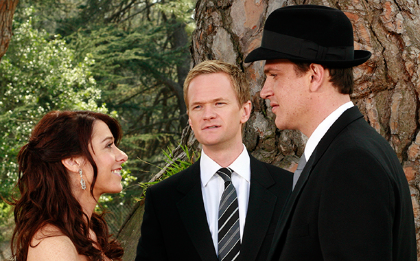 """Marshall and Lily in """"Something Borrowed"""" on How I Met Your Mother"""