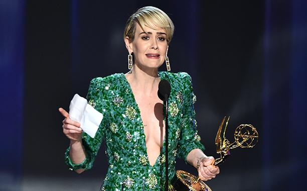 Sarah Paulson, Best Actress in a Limited Series or Movie, The People v. O.J. Simpson: American Crime Story