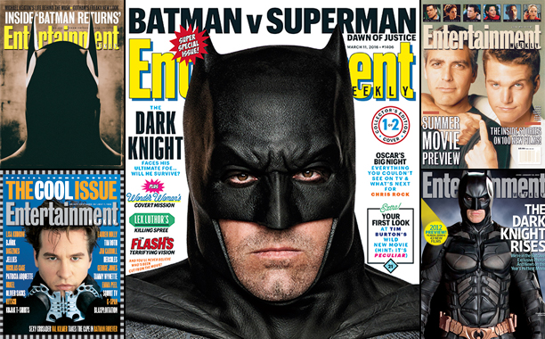 EW's Batman Covers Through The Years