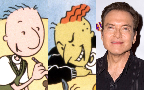 Billy West (Doug Funnie and Roger Klotz)