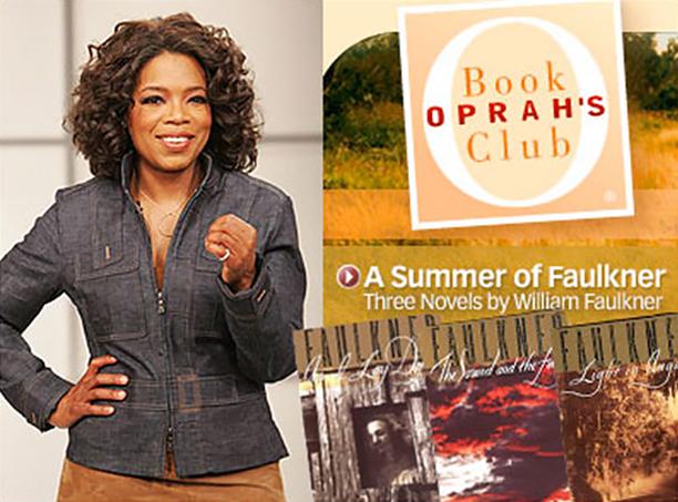 Oprah Chooses William Faulkner