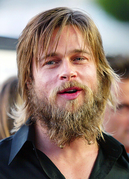 In 2001, Pitt started growing this beard for Darren Aronofsky's The Fountain . In 2002, the world breathed a sigh of relief when he dropped…