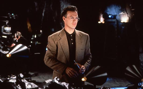 Michael Keaton in Batman Returns in 1992