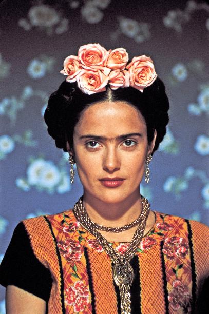 Salma Hayek in Frida in 2002
