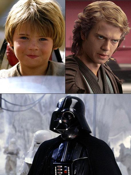 Star Wars: Episode IV - A New Hope, Darth Vader | Younger version: Jake Lloyd, then Hayden Christensen ( Star Wars: Episodes I-III , 1999-2005) Older version: David Prowse (body) and James Earl Jones (voice) (…