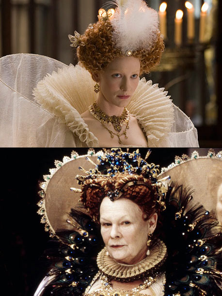 Shakespeare in Love, Colin Firth, ... | Younger version: Cate Blanchett (1998's Elizabeth , 2007's Elizabeth: The Golden Age ) Older version: Judi Dench (1998's Shakespeare in Love ) Why it works:…