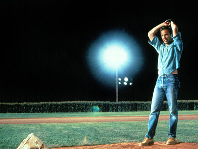 Field of Dreams, Kevin Costner | You want to know the honest truth? Guys are the bigger babies. Get them rattling on about old baseball players, mystical reclusive authors, or having…