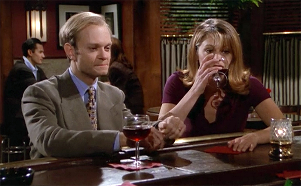 Niles to Daphne in ''Mixed Doubles'' on Frasier