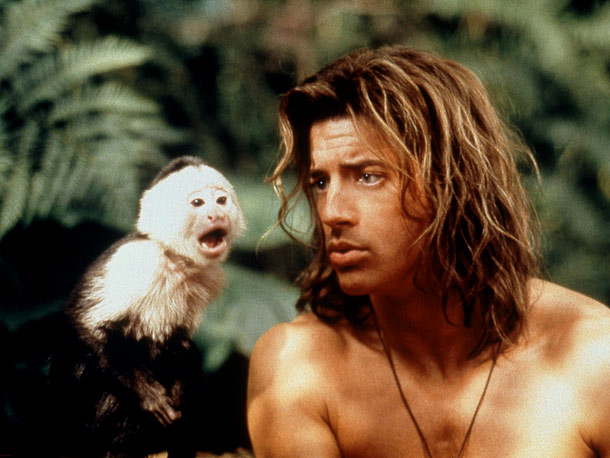 Brendan Fraser, George of the Jungle | Key Role: Little Monkey, a pal of the title character (Brendan Fraser) in George of the Jungle (1997). Oscar-worthy Moment: He mockingly imitates Fraser's sweetly…