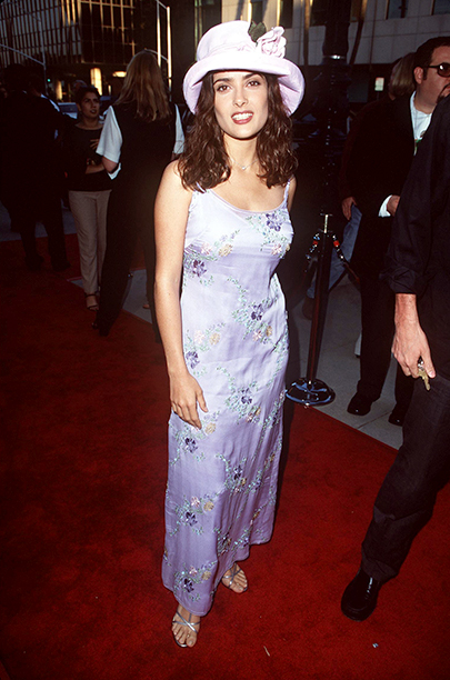 Salma Hayek at the Los Angeles Premiere of Ever After on July 29, 1998
