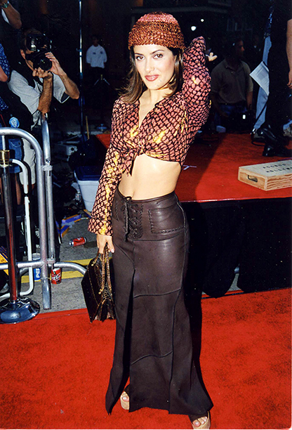 Salma Hayek at the Eyes Wide Shut Premiere in Los Angeles on September 9, 1999
