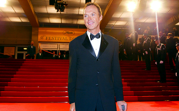 Michael Keaton at the Cannes Film Festival on May 22, 2002