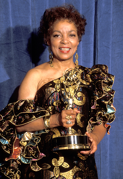 Outstanding Supporting Actress in a Miniseries or a Special Winner Ruby Dee (Decoration Day)