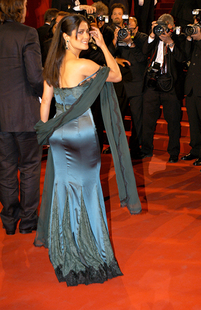 Salma Hayek at the 2005 Cannes Film Festival on May 13, 2005