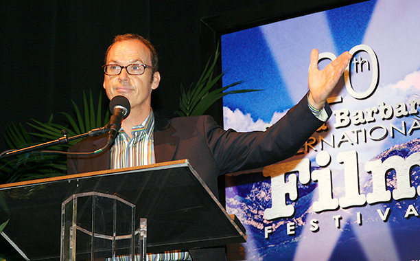 Michael Keaton at the 20th Annual Santa Barbara International Film Festival on January 29, 2005