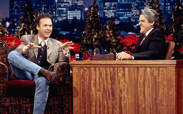 Michael Keaton on The Tonight Show with Jay Leno on December 14, 1994