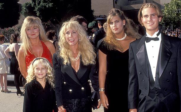 Cindy Landon, Leslie Landon, Jennifer Landon, Shawna Landon, and Christopher Landon