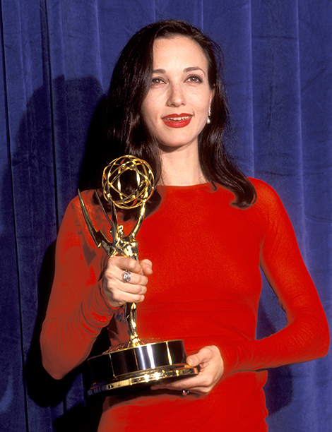 Outstanding Supporting Actress in a Comedy Series Winner Bebe Neuwirth (Cheers)