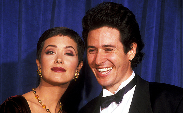 Janine Turner and Rob Morrow