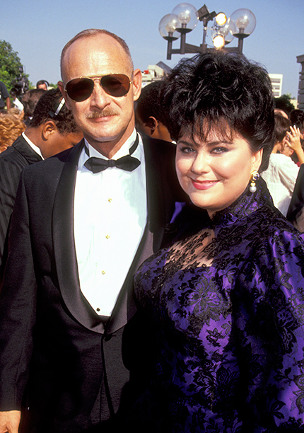 Gerald McRaney and Outstanding Lead Actress in a Comedy Series Nominee Delta Burke (Designing Women)
