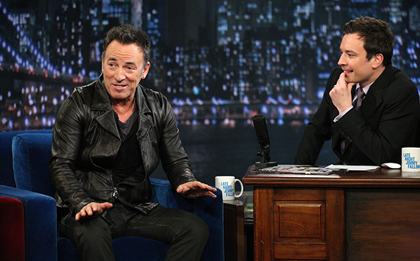 Bruce Springsteen on Late Night with Jimmy Fallon on March 2, 2012