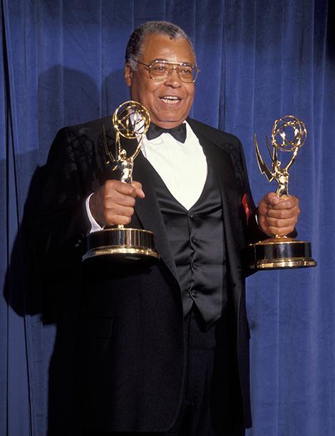 Outstanding Lead Actor in a Drama Series Winner James Earl Jones (Gabriel's Fire)