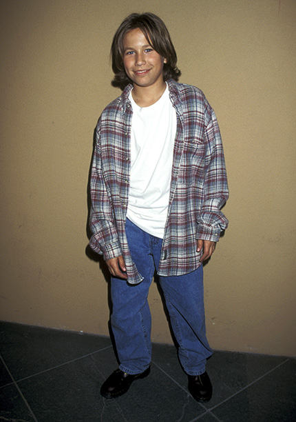 Jonathan Taylor Thomas at the Wrap-Up Party for the 100th Episode of Home Improvement in Burbank, Calif. on April 6, 1995