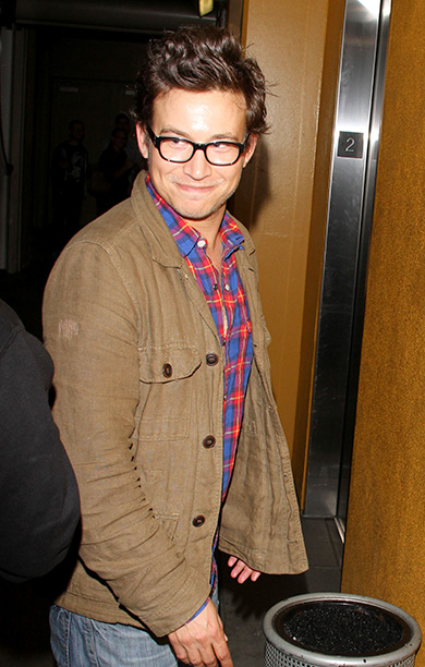 Jonathan Taylor Thomas in Los Angeles on August 14, 2013