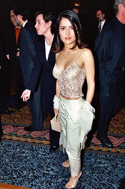 Salma Hayek in Las Vegas on March 9, 2000