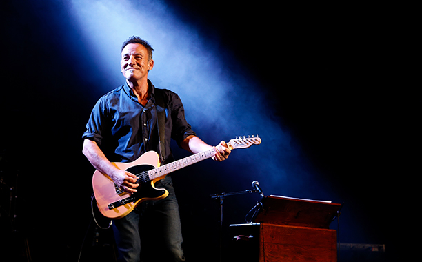 """Bruce Springsteen at the 7th Annual """"Stand Up For Heroes"""" Event in New York City on November 6, 2013"""
