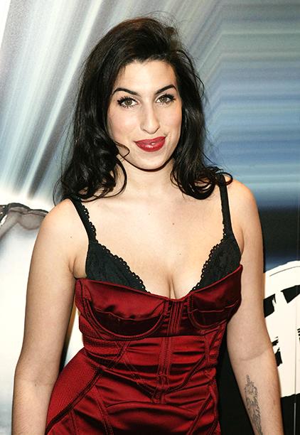 Amy Winehouse on January 12, 2004