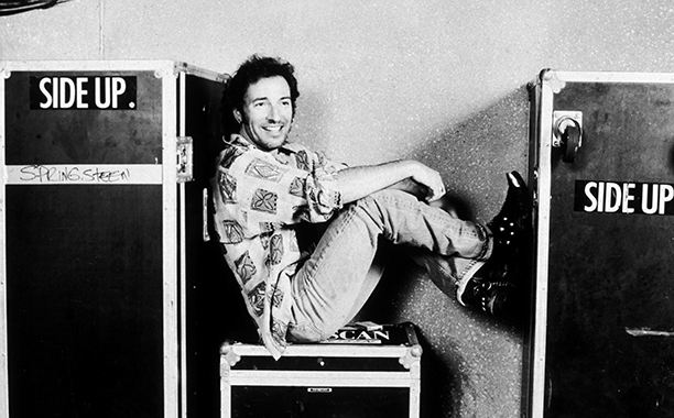 Bruce Springsteen in New Jersey on July 28, 1992