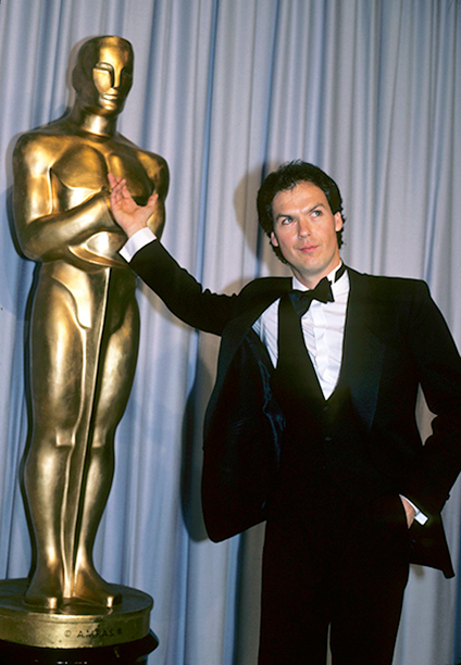 Michael Keaton at the 55th Annual Academy Awards on April 11, 1983