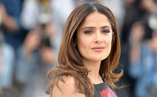 Salma Hayek at the 68th annual Cannes Film Festival on May 14, 2015
