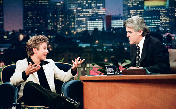 Jonathan Taylor Thomas on The Tonight Show with Jay Leno on August 5, 1997