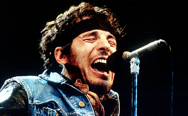 Bruce Springsteen Closing the Born in the U.S.A. Tour in Los Angeles on October 2, 1985
