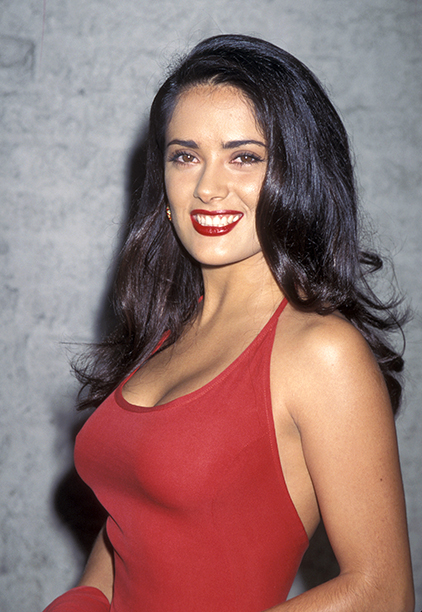 Salma Hayek at the Los Angeles Premiere of Desperado on August 21, 1995
