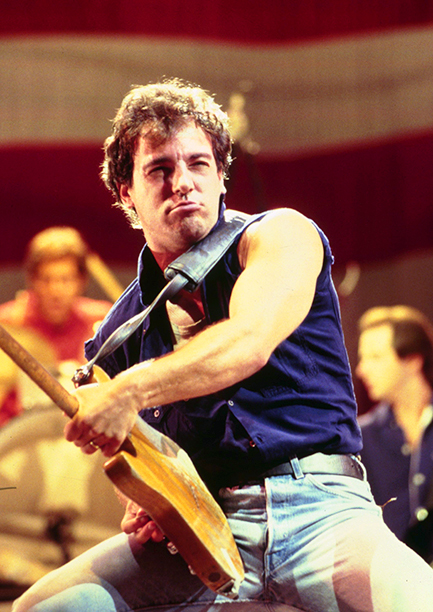 Bruce Springsteen in the Mid-1980s
